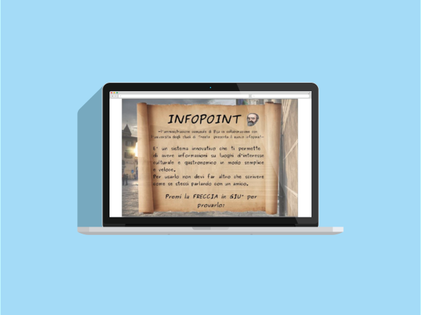 Progetto infopoint – Pisa